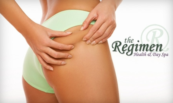 The Regimen - Pleasant Hill: $189 for Three Velashape Treatments ($585 Value) or $32 for a 20-Minute Spa Oceana Treatment ($65 Value) at The Regimen in Walnut Creek