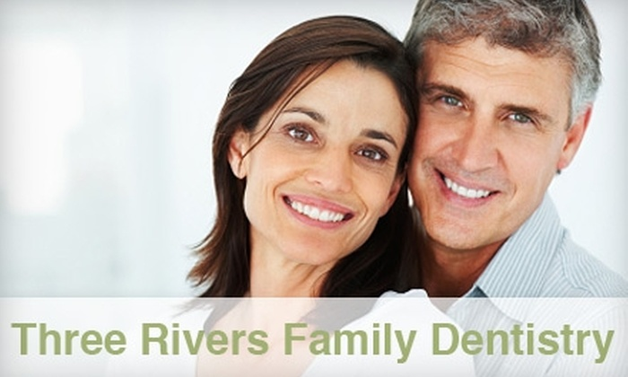 Three Rivers Family Dentistry - Beacon Heighst: $45 for a Comprehensive Dental Exam, X-rays, and Teeth Cleaning from Three Rivers Family Dentistry ($313 Value)