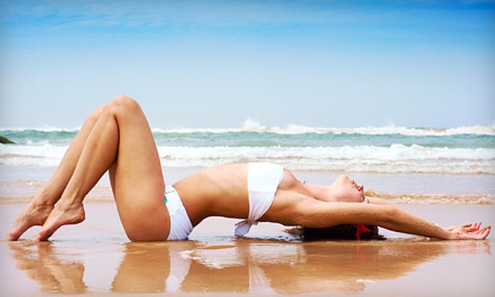 Tan Lines of Jupiter - Palm Beach: One or Three Custom Airbrush Spray Tans or One Month of Unlimited Bed Tanning at Tan Lines of Jupiter (Up to 66% Off)