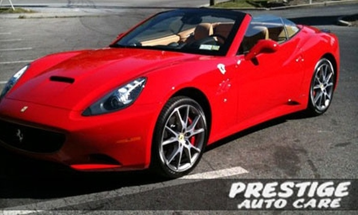 Prestige Auto Detailing - West Harrison: $25 for an Express Car Detail ($50 Value) or $32 for an Express SUV Detail ($60 Value) at Prestige Auto Detailing in Briarcliff Manor