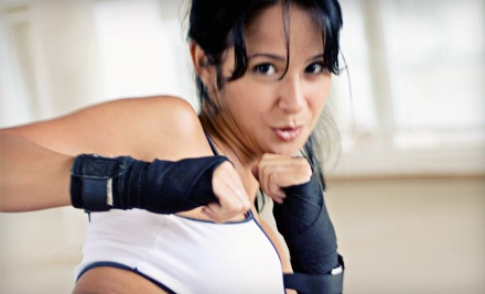 5 Drop-In Yoga or Women's Cardio Kickboxing Classes (a $100 value) - East Coast United BJJ & MMA in Bronx