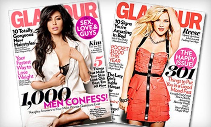 """""""Glamour"""" Magazine  - Springfield, MA: $6 for One-Year Subscription to """"Glamour"""" Magazine ($12 Value)"""