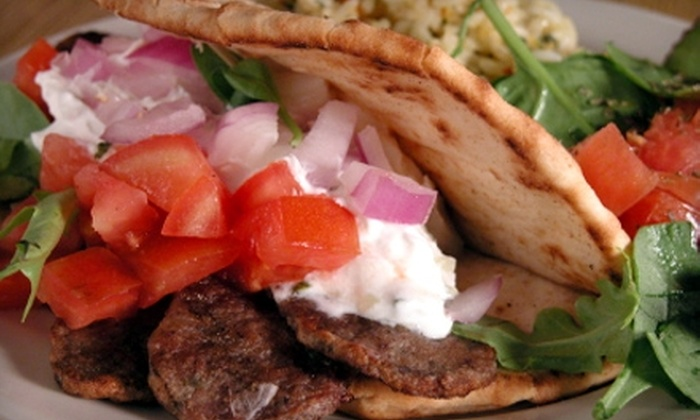 Gyro Oasis - Royal Ridge: $7 for $15 Worth of Mediterranean Fare at Gyro Oasis  in Irving