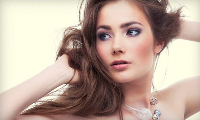 Salon Hermitage - Rochester: Haircut Package or Partial-Color or Full-Color Package at Salon Hermitage (Up to 70% Off)