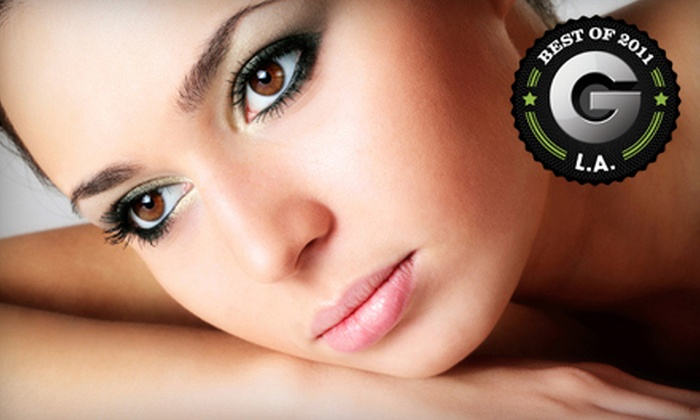 Saving Faces Skin Care Salon - Marina Del Rey: $65 for a Face Savor Facial Package with Prosecco at Saving Faces Skin Care Salon in Marina Del Rey ($145 Value)
