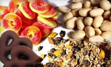 $25 Groupon for Nuts and Food at Nutty Guys - Nutty Guys in
