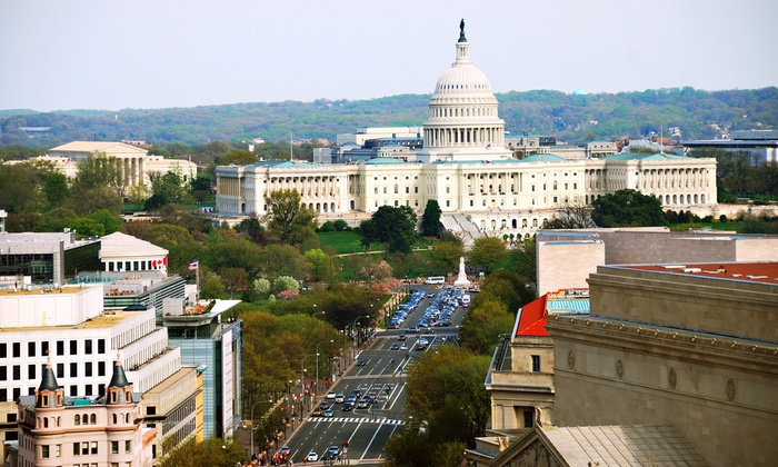 Tour America - Theater District - Times Square: $99 for One-Day Tour to Washington, DC, from Tour America (Up to $165 Value)