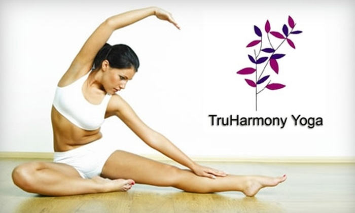 TruHarmony Yoga - Near North Side: $39 for Two Months of Unlimited Hot Yoga Classes at TruHarmony Yoga (Up to $280 Value)