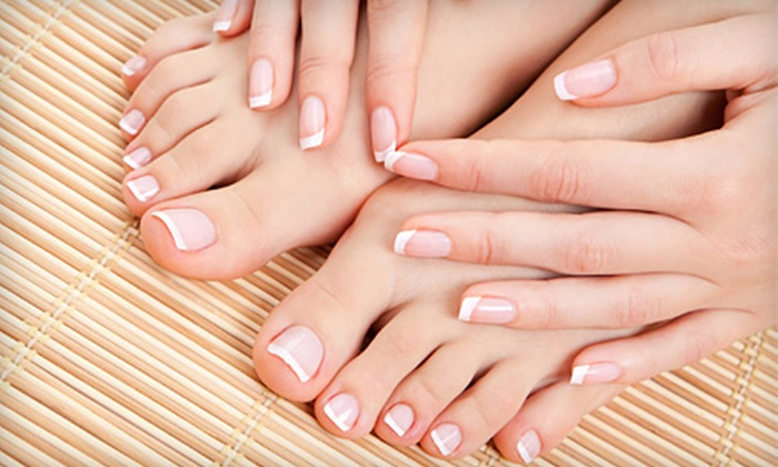 Blades Salon & Day Spa - College Park: Manicure, Pedicure, or Mani-Pedi at Blades Salon & Day Spa