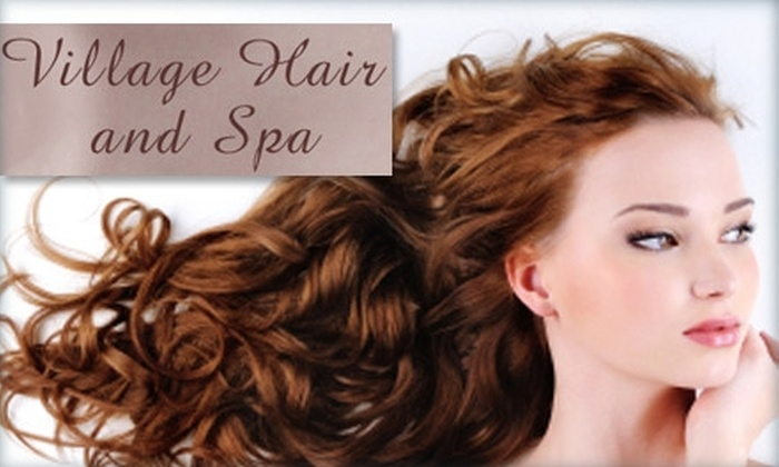 Village Hair and Spa - Sioux Falls: $39 Haircut and Choice of Color or Deep Conditioning Treatment at Village Hair and Spa