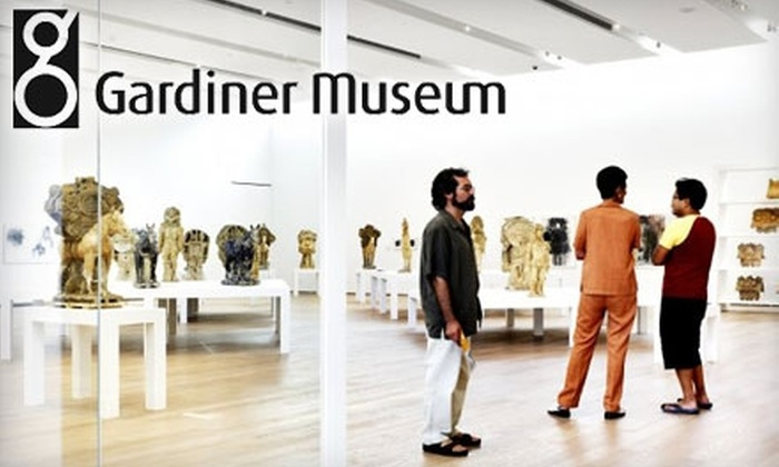 Gardiner Museum - Downtown Toronto: $5 for One General Admission to the Gardiner Museum (Up to $12 Value)