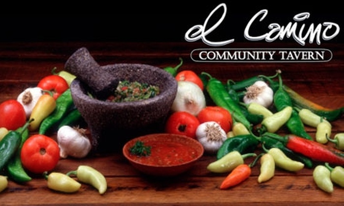 El Camino Community Tavern - West Highland: $5 for $10 Worth of Mexican Lunch Fare at El Camino Community Tavern