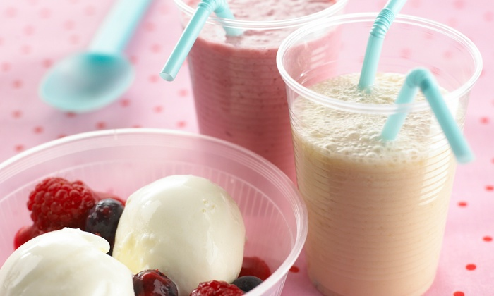 Water Plus Juice Factory - Chandler: $10 for $20 Worth of Smoothies and Ice Cream at Water Plus Juice Factory