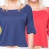 Women's Pocket Crop Tops