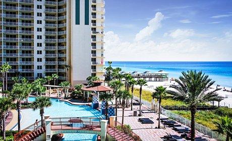 Groupon Family Friendly Beachfront Condos In Florida Panama City Beach