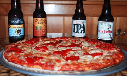$12 for Food and Drinks at Bill's Pizza & Pub ($20 Value)