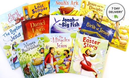 My First Bible Stories 12-Book Set