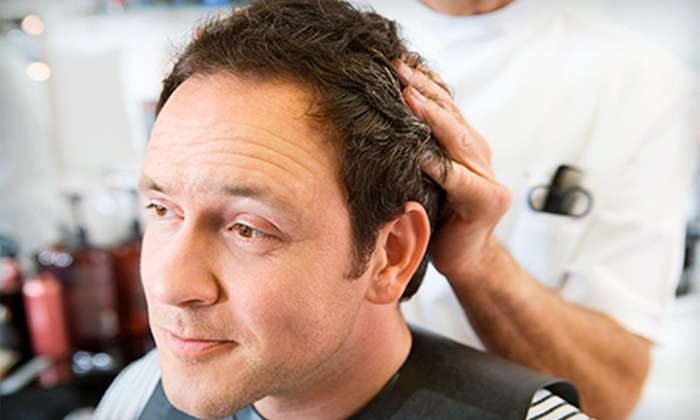 Sport Clips - Stow: One or Three Men's MVP Haircuts with Hot Towels and Neck Massages at Sport Clips (Up to 56% Off)