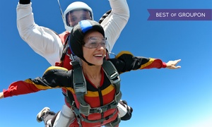 Skydive Baltimore: One or Two Tandem Skydives, Each with T-Shirt from Skydive Baltimore (Up to 47% Off)