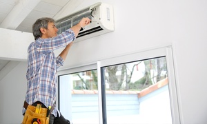Air Con Clean: Air Conditioner Clean - Split System ($67) or Ducted System ($97) with Air Con Clean, Brisbane Metro (Up to $379 Value)