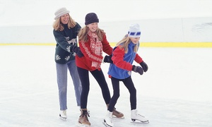 Fylde Coast Ice Arena: Ice Rink Entry with Skate Hire and Hot Drink for One, Two or Four at Fylde Coast Ice Arena (Up to 50% Off)
