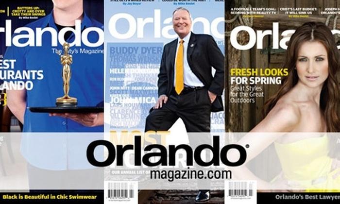 Orlando Magazine - Orlando: $8 for a One-Year Subscription to Orlando Magazine