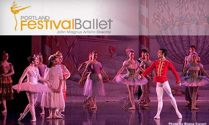 "Portland Festival Ballet - Central Beaverton: $22 for Two Tickets to ""The Nutcracker"" by the Portland Festival Ballet (Up to $48 Value). Choose from Four Dates."
