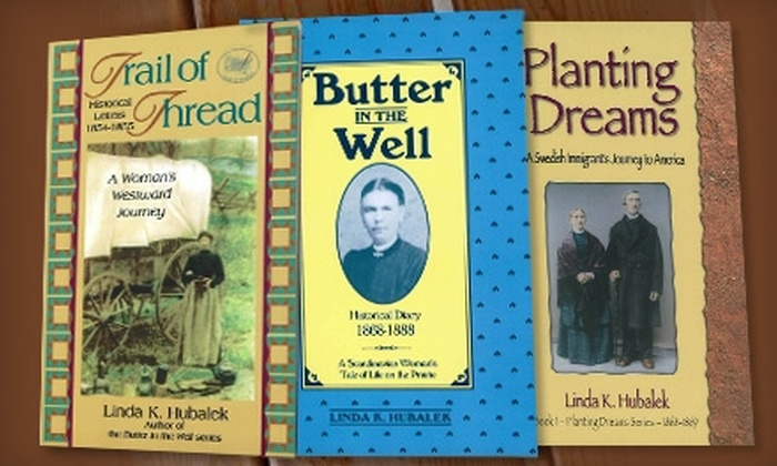 Butterfield Books: $14 for Three Pioneer Books by Linda K. Hubalek from Butterfield Books ($32.95 Value)