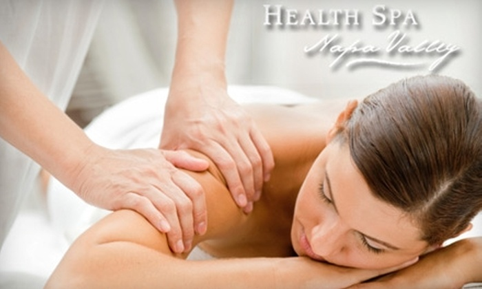 Health Spa Napa Valley - St. Helena: $60 for a 50-Minute Sports or Deep-Tissue Massage at Health Spa Napa Valley