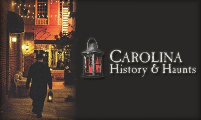 Carolina History & Haunts - Downtown: $10 for Two Tickets to Carolina History and Haunts Candlelight Walking Tour ($26 Value)