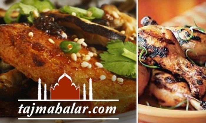 Taj Mahal  - Walnut Valley: $7 for $15 Worth of Indian Cuisine at Taj Mahal