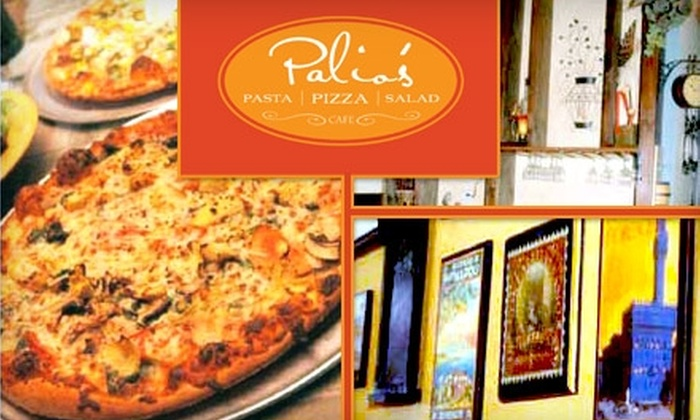 Palio's - Multiple Locations: $10 for $20 Worth of Pizza, Pasta, and More at Palio's in Little Elm and Frisco