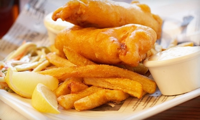 Somthin' Fishee - Centre Wellington: $8 for $16 Worth of Fish 'n' Chips at Somthin' Fishee