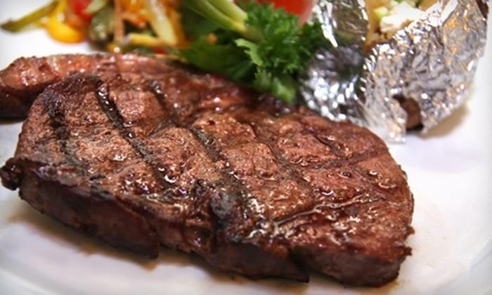 Freddie Paul's Steakhouse - Stillwater: $20 for $40 Worth of Steakhouse Fare at Freddie Paul's Steakhouse in Stillwater