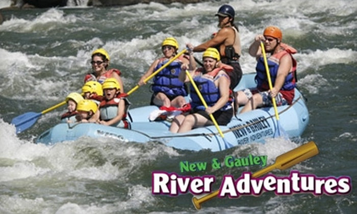 New & Gauley River Adventures - South Columbus: $100 for a $200 Gift Card for Whitewater Rafting, Horseback Riding, Cabins, and More from New & Gauley River Adventures