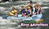 New & Gauley River Adventures (OH/DC/KY/WV) - South Columbus: $100 for a $200 Gift Card for Whitewater Rafting, Horseback Riding, Cabins, and More from New & Gauley River Adventures