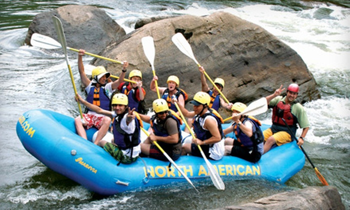 North American River Runners - Minden: $99 for a Gauley Whitewater Rafting Trip and Two Nights of Camping from North American River Runners in Minden, West Virginia (Up to $206 Value)