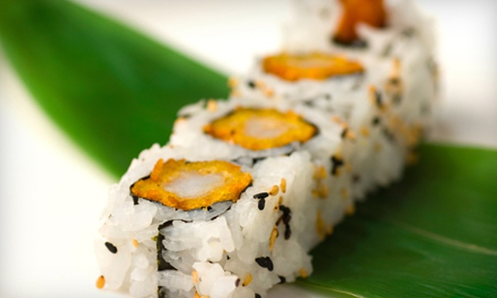 Joto Japanese Restaurant - Tampa Bay Area: $12 for $25 Worth of Japanese Fare and Drinks at Joto Japanese Restaurant
