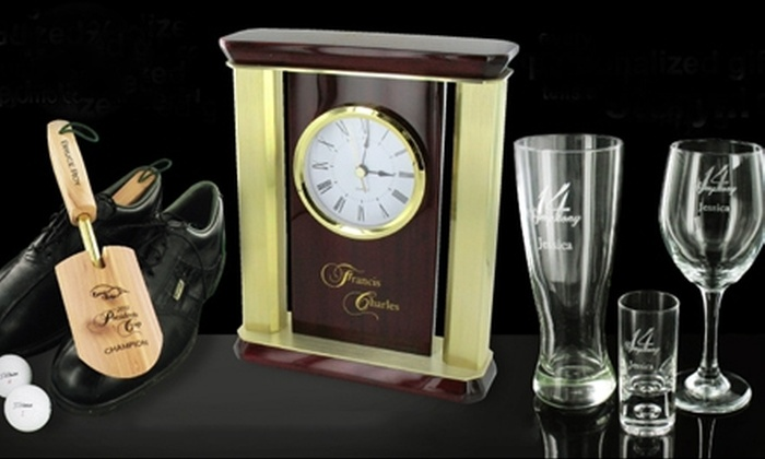 RhinoGift.com - Glastonbury Center: Personalized Gifts from RhinoGift.com (Up to 55% Off). Two Options Available.