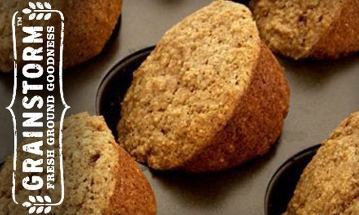 Grainstorm: $10 for Three Artisan Baking Mixes from Grainstorm (Up to $23 Value)