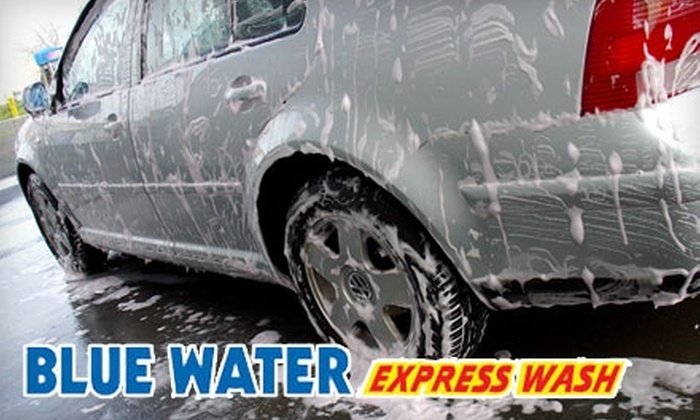 Blue Water Express Wash - Holiday Hill: $5 for an Ultimate Car Wash at Blue Water Express Wash ($10 Value)