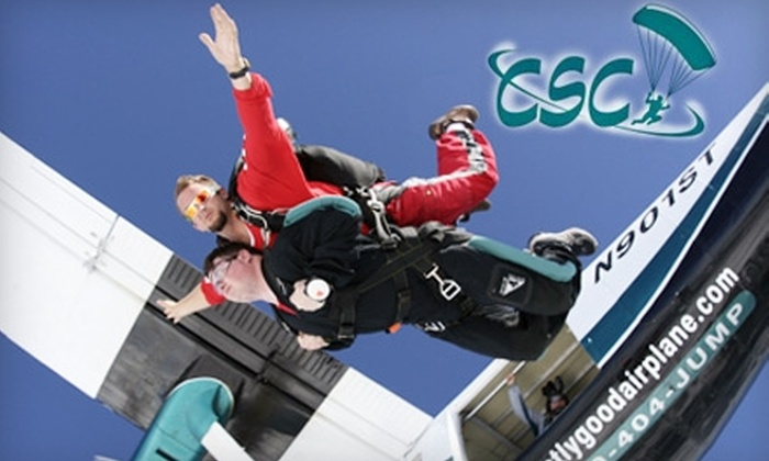 Chicagoland Skydiving Center - Reynolds: $120 for a Tandem Jump at Chicagoland Skydiving Center in Hinckley (Up to $229 Value)