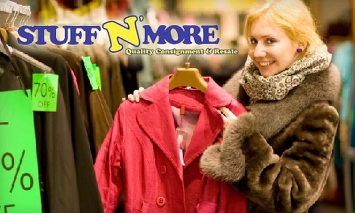 Stuff N' More - Franklin Park: $10 for $25 Worth of Consignment and Resale Clothing and Goods at Stuff N' More