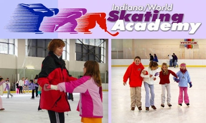 Indiana/World Skating Academy - Downtown Indianapolis: $3 for Ice Skating and Skate Rental at Indiana/World Skating Academy (Up to $7.50 Value)