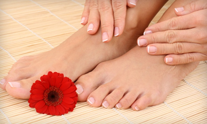 S. Salon & Spa - Westchester: $25 for a Spa Manicure and Pedicure at S. Salon & Spa ($60 Value)