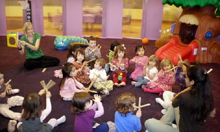 MoBu Kids - Falls Church: $25 for Eight Hours of Open Play for Kids Age Five and Younger at MoBu Kids ($56 Value)