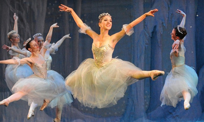 "Saint Louis Ballet presents ""The Nutcracker"" - St Louis: One Ticket to ""The Nutcracker"" by the Saint Louis Ballet at Touhill Performing Arts Center (51% Off). Nine Performances Available."