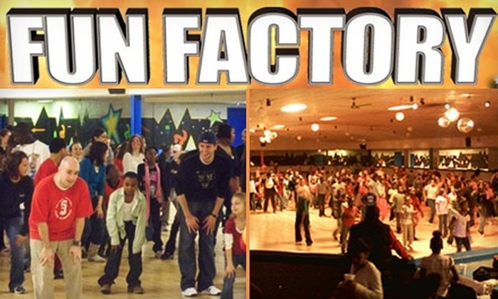 Fun Factory Roller Skating - Norwood: $3 for One Admission and Skate Rental at Fun Factory Roller Skating (Up to $7.50 value)