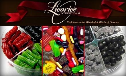 $10 Groupon to Licorice International - Licorice International in Lincoln