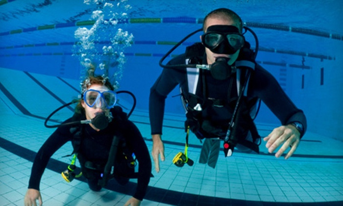 Capt. Saam's Scuba School - Glenbrook: $30 for a Two-Hour Discover Scuba Lesson at Capt. Saam's Scuba School in Stamford ($100 Value)